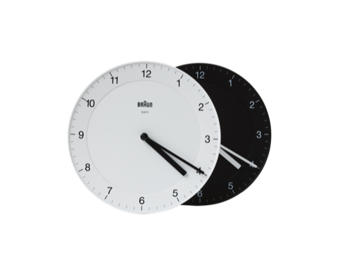 Classic analog wall clock