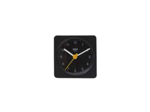 Classic travel analog alarm clock